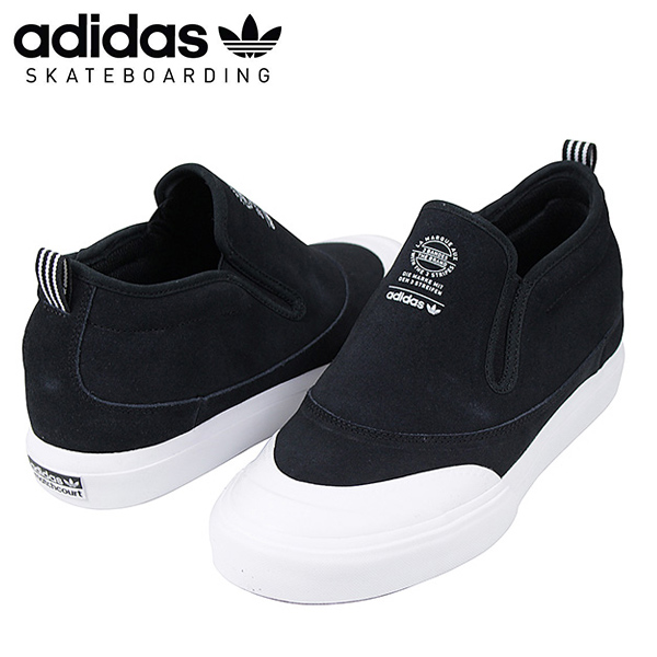 128a9af5f It is adidas skateboarding Adidas MATCHCOURT MID SLIP men sneakers  BLACK .