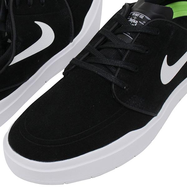 wholesale dealer 4f154 ed8fd NIKE SB Nike STEFAN JANOSKI HYPERFEEL men sneakers BLACK WHITE  ジャノスキーブラックホワイトスケートシューズスケシュー shoes 844,443-001 Rakuten mail order