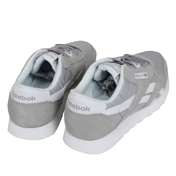d4b011b352adb4 Reebok Reebok CL NYLON men sneakers  GREY WHITE  classical music nylon gray  running shoes 90s PALACE SKATE BD4903 Rakuten mail order