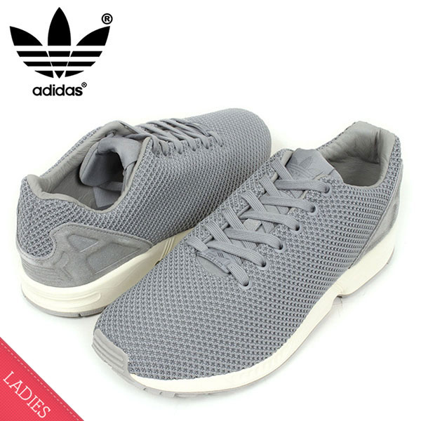 wholesale dealer 9e29e 8f1e1 sweden adidas adidas zx flux knit mesh womens sneakers zed x running shoes  grey womens womens