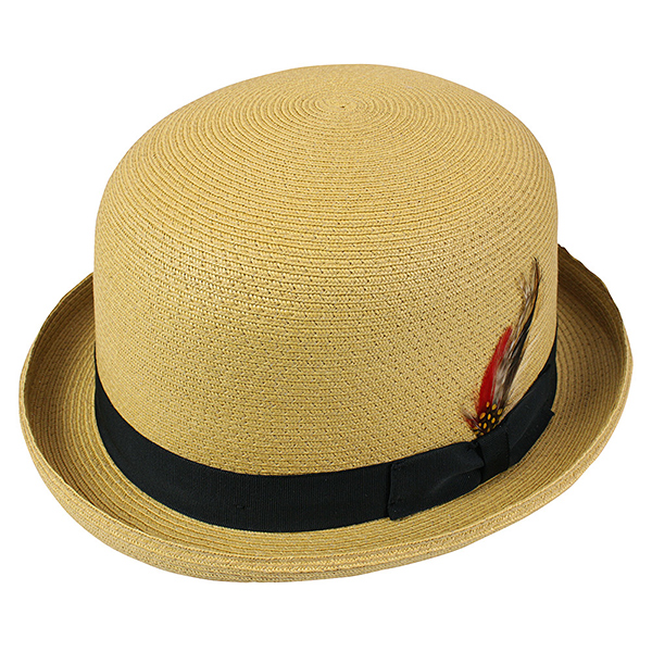NEW YORK HAT Sewn Braid Derby (women's men's straw hats Derby Hat Black, New York Hat straw hat of ソウンブレイド Derby 2024)