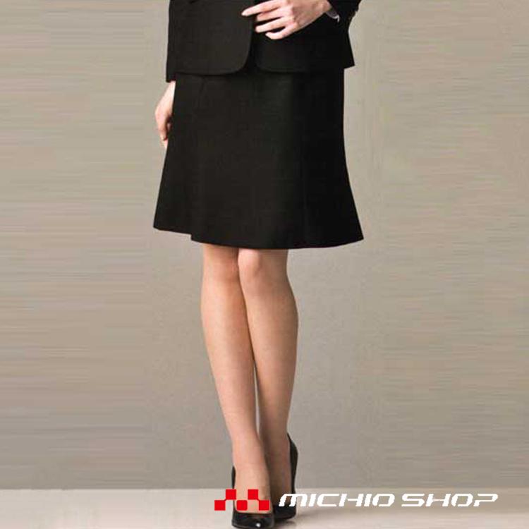 事務服 制服 BONMAX ボンマックスマーメイドスカートAS2252大きいサイズ21号オフィスユニフォームスーツビジネスカジュアル事務服