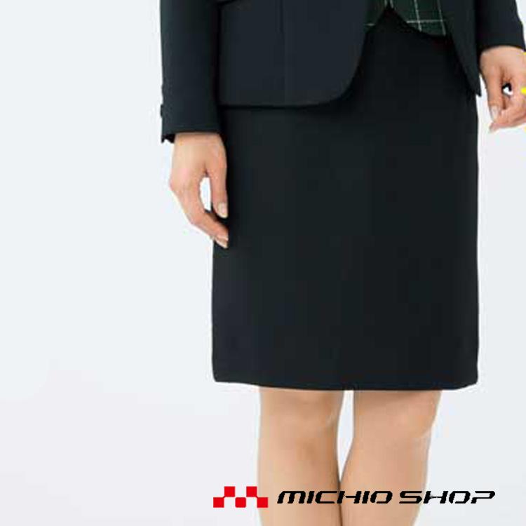 事務服 制服 ボンマックス(BONMAX)タイトスカート AS2278大きいサイズ21号オフィスユニフォームスーツビジネスカジュアル事務服