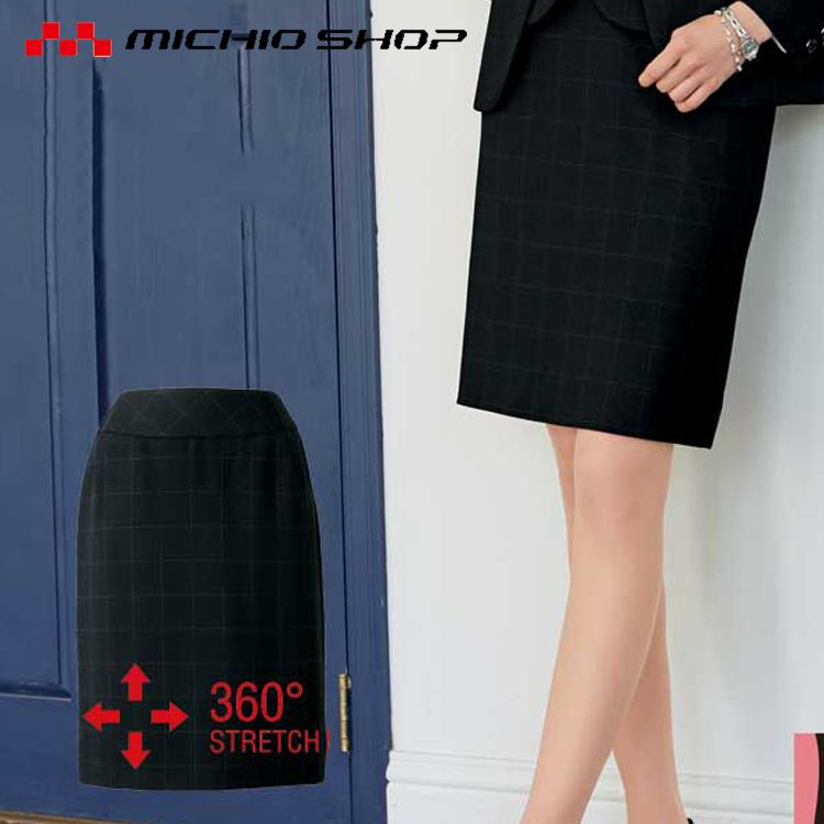 事務服 制服 セレクトステージ 神馬本店 美形スカート SA305S 大きいサイズ4L・5L