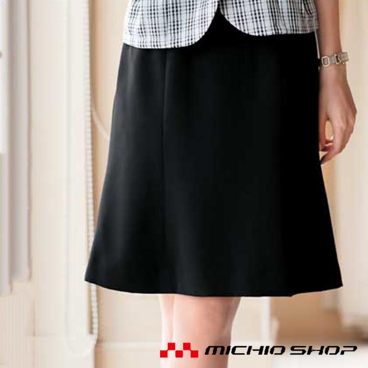 事務服 制服 セレクトステージ 神馬本店 美形マーメイドプリーツスカート SS617S フレアースカート 大きいサイズ4L・5L