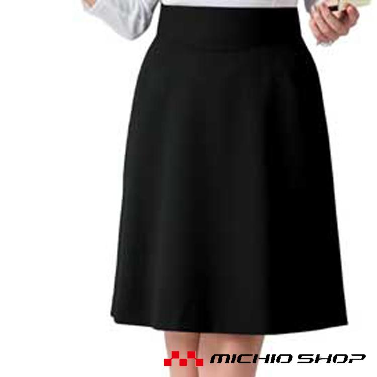 事務服 制服 セレクトステージ 神馬本店 美形スカート:フレア SA207Sオフィスユニフォームスーツビジネスカジュアル事務服
