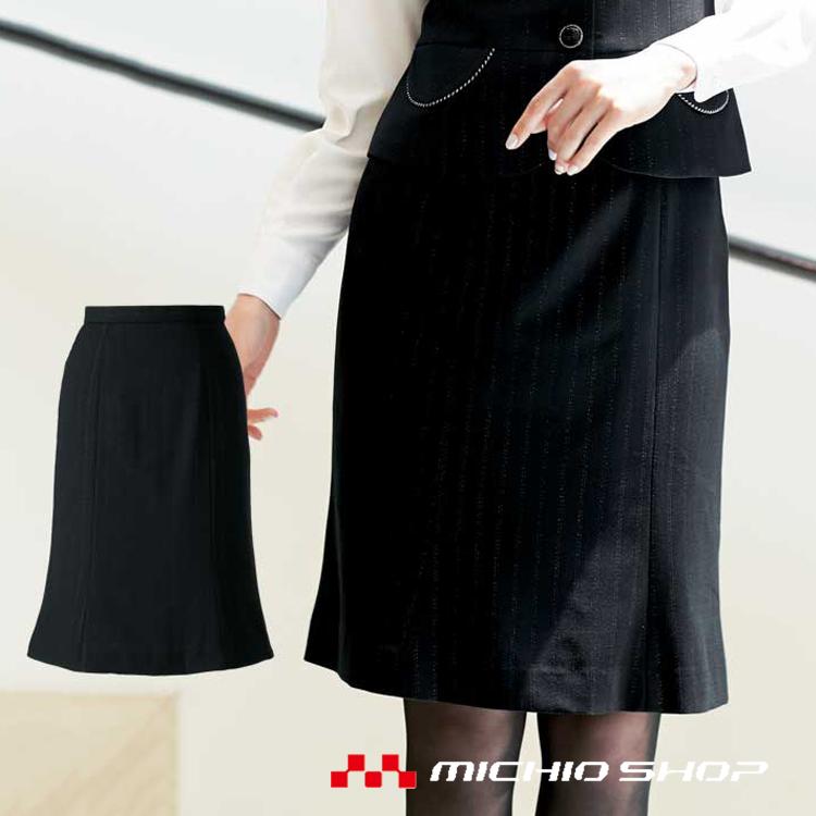 事務服 制服 en joie アンジョア マーメイドスカート 51702大きいサイズ17号・19号