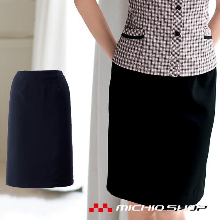 事務服 制服 en joie 制服 アンジョア タイトスカート(55cm丈) joie 56610 en 大きいサイズ17号・19号, 厚別区:db14720c --- rakuten-apps.jp