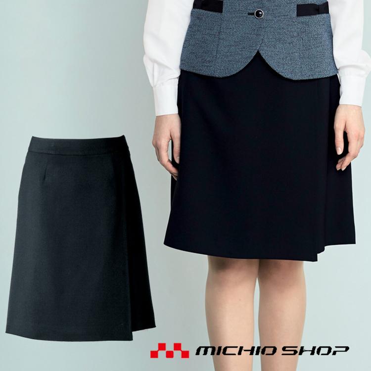 事務服 制服 en joie アンジョア ラップキュロット(50cm丈)71415大きいサイズ17号・19号