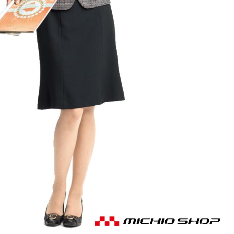 事務服 制服 en joie アンジョアマーメイドスカート(55cm丈)51415大きいサイズ21号・23号オフィスユニフォームスーツビジネスカジュアル事務服