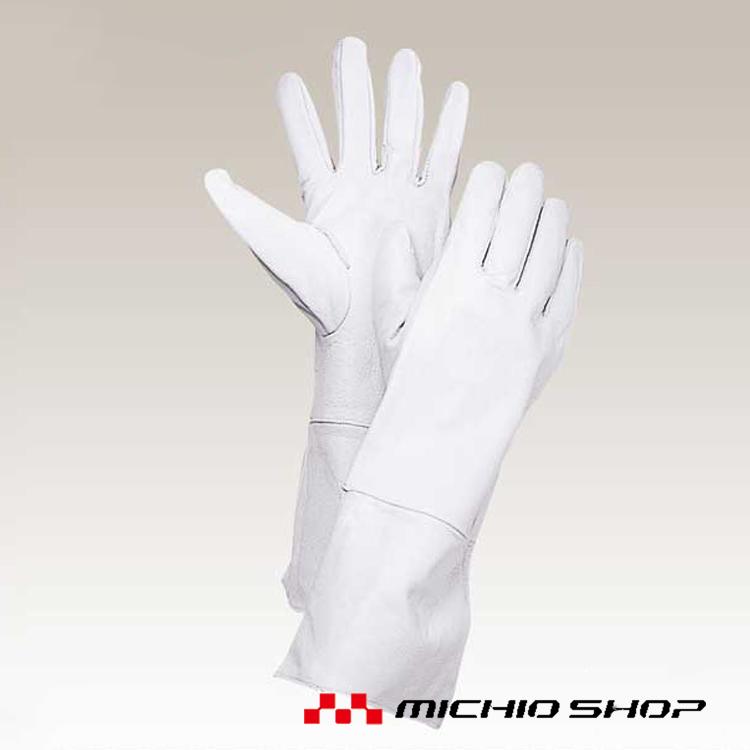 溶接用手袋 働楽鶴市溶接手袋 10双5000 大中産業作業手袋