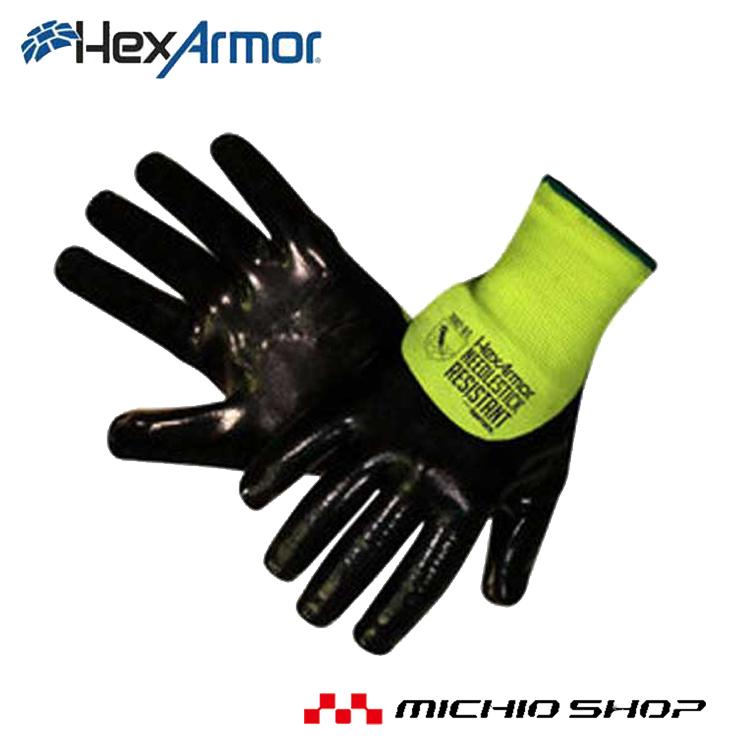 HEXARMOR 働楽シャープマスターHV 耐針シリーズ 7082 大中産業作業手袋