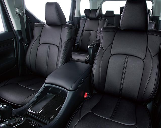 最高の技術と素材で創る最良のシートカバー CLAZZIO 与え クラッツィオプライムトヨタ ノア トラスト 8人乗 60系 後期