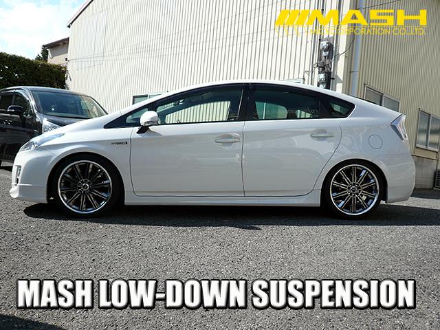 MASH lowered suspension sienta