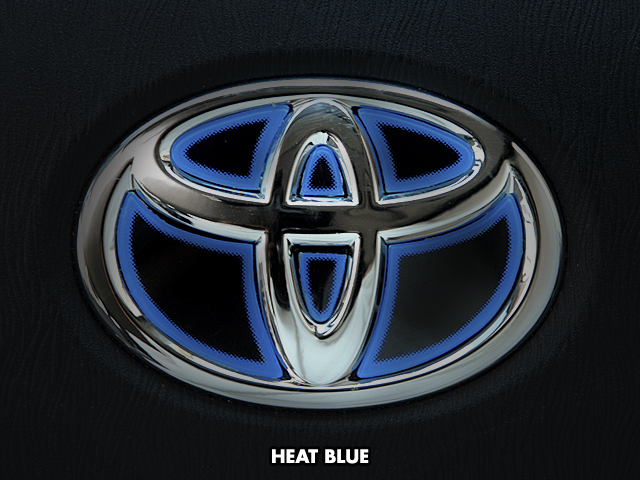 Steering emblem Toyota mark X geo-heat color