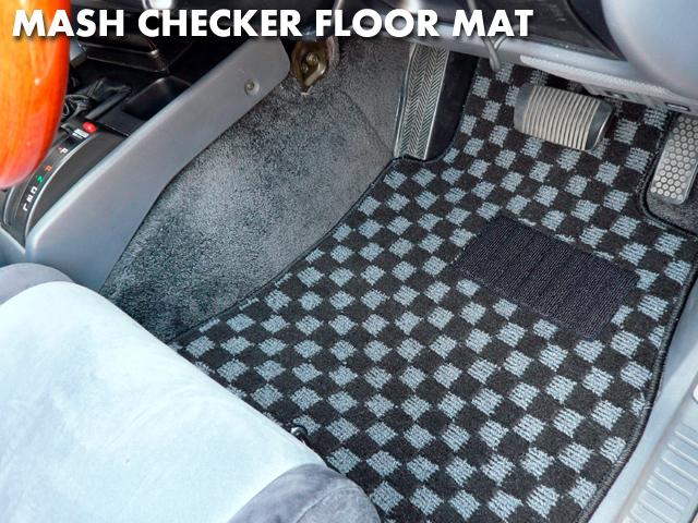 Checker floor mat / land cruiser (five)