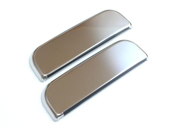 傷付きやすいドアノブの保護とドレスアップに メッキドアノブカバー ハイゼット 新着 当店限定販売 2枚セット S200系