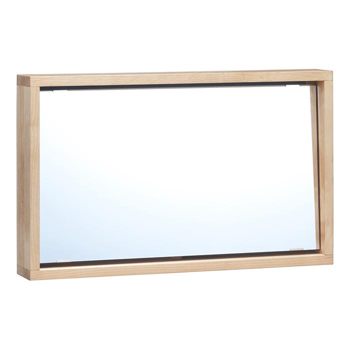 スタンドミラー 幅65cm tiny II stand mirror タイニー2 天然木アルダー材 オイル仕上げ オイル塗装 北欧 おしゃれ 北欧 新生活 一人暮らし