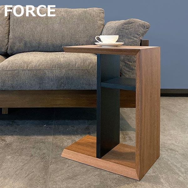 開梱設置 サイドテーブル 幅40cm MKマエダ フォルス FRC-030 ナイトテーブル シャープ おしゃれ
