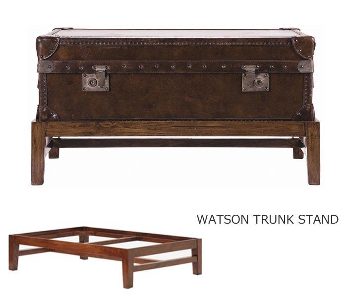 テーブル台 ワトソンミディアムトランク 専用 スタンド スタンドのみ(トランクは別) 北欧 西海岸 新生活