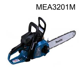 マキタ エンジンチェーンソー <MEA3201M> 楽らくスタート インテリジェントイグニッション タッチストップ機能 ガイドバー長さ350mm 排気量32mL 最大出力1.35kW