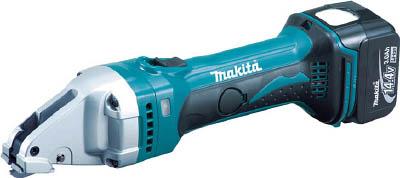 マキタ 充電式ストレートシヤー 14.4V 3.0Ah バッテリ 充電器付き <JS160DRF>【切断工具 電動工具 両刃 激安 通販 おすすめ 人気 セール 比較 16,200円以上は 送料無料 シャー 切断機】