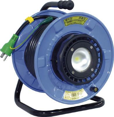 【送料無料】日動工業 防雨・防じん型 LEDライトリール <SDW-E22-10W5026> 20m 【漏電遮断器なし 日動 工業】