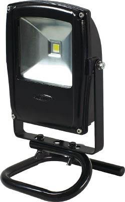 日動工業 フラットライト <LEN-F10S-BK5026>10W 昼光色 本体黒 床スタンド 【照明 照明器具 屋外 日動 激安 通販 おすすめ 人気 価格 安い 16500円以上送料無料】