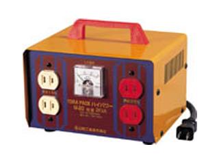 日動工業 変圧器 100V昇圧トランス 2KVA <M-20>【トランス 激安 通販 おすすめ 人気 セール 比較 16,200円以上は 送料無料 工事現場 安全 工事 電気 工事用変圧器】