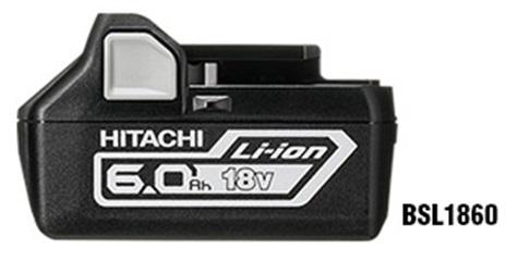 【2年保証】【純正】HiKOKI ハイコーキ(旧日立工機) リチウムイオンバッテリー 18V-6.0Ah用 <BSL1860> 【バッテリー vspec インパクトドライバー 車 互換 vスペック ups 充電器 バッテリーパック dz-bp14s 16500円以上送料無料 】