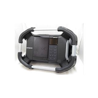 日立工機 コードレス ラジオ 限定色 シルバー <UR18DSDL(S)(NN)> バッテリー・充電器別売 銀色 14.4V/18V【送料無料】【UR18DSDLSNN Bluetooth acアダプター ipod おしゃれ 人気 価格 安い ブルートゥース スマートフォン接続 android アンドロイド iPhone 防じん 防水】