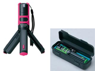 パナソニック(Panasonic) レーザーマーカー 墨出し名人ケータイ 壁一文字(鉛直タイプ) ピンク プラスチックケース付 <BTL1000P > 墨だし すみだし 墨付け すみつけ 炭付け 墨つぼ 墨壺 地墨 墨液 出し 出し方