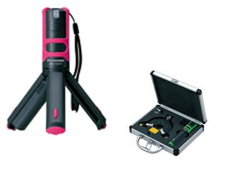 パナソニック(Panasonic) レーザーマーカー 墨出し名人ケータイ 壁十文字(水平+鉛直タイプ) ピンク フルセット <BTL1101P> 墨だし すみだし 墨付け すみつけ 炭付け 墨つぼ 墨壺 地墨 墨液 出し 出し方