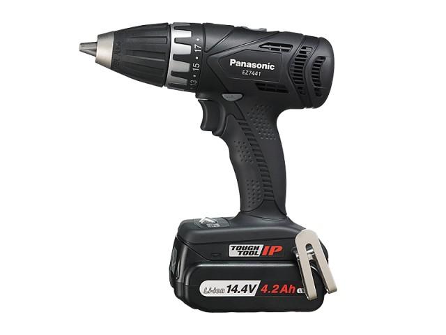 パナソニック(Panasonic) 充電式ドリルドライバー 14.4V/4.2Ah 黒 <EZ7441LS2S-B>【電動工具 激安 通販 おすすめ 人気 価格 安い 女性 電池式 小型】