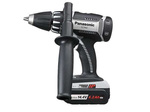 【送料無料】パナソニック(Panasonic) 充電式ドリルドライバー 14.4V/4.2Ah LSタイプ グレー <EZ7442LS2S-H>【電動工具 激安 通販 おすすめ 人気 価格 安い 女性 電池式 小型】