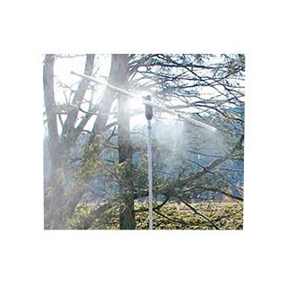【熱中症対策】ビョーンとのび~る!魔法のミストスタンド【霧 水霧 体調管理 体温調節 気化熱 簡単 家庭用ホース 伸びる スタンド 三脚 クールダウン 厚さ対策 猛暑 ひんやり ヒンヤリ】