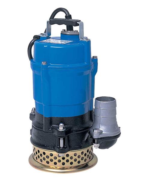 ツルミ(鶴見製作所) 一般排水用水中ハイスピンポンプ 単相100V 2吋 <HS2.4S-62>