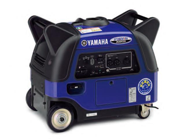 YAMAHA(ヤマハ) インバーター 発電機 2.8kVA <EF2800iSE> 【小型 家庭用 価格 4サイクル カセットボンベ 200V yamaha dc ac 原理 容量 レンタル 仕組み 構造 違い 通販 エンジン 人気