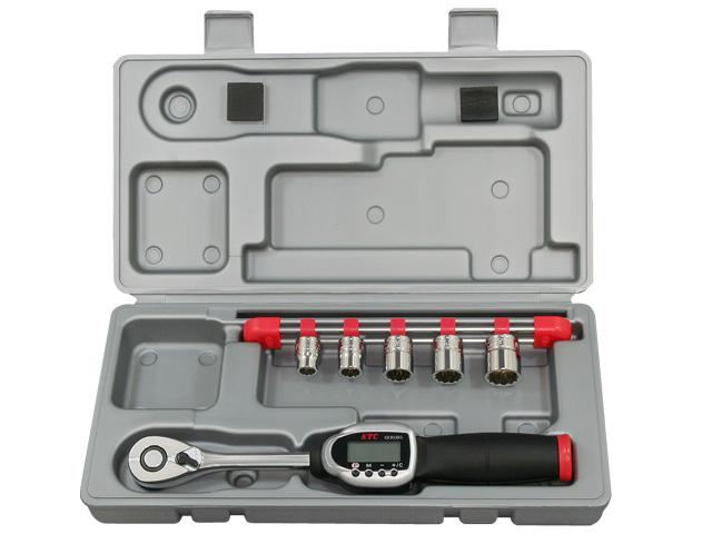 KTC(京都機械工具) 汎用ツール 9.5sq. ソケットレンチセット デジラチェモデル <TB306WG2> 【21 ktc インチ 12.7 寸法 サイズ jis 差し込み角 比較 使い方 工具 通販 おすすめ 人気 アダプター 3517】