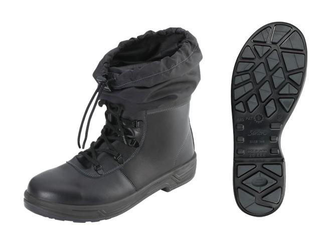 シモン(Simon) 防災用安全靴 中編上 活動靴 SS22 HiX 黒フード付 <23.5cm~28.0cm> 【安全靴 蒸れない レディース 16200円以上は 送料無料 安い靴 寅壱 セーフティースニーカー安全靴 25.5 滑らない おしゃれ ランキング】