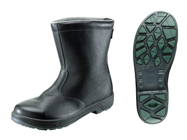 シモン(Simon) スターシリーズ 安全靴 半長靴 SS44 黒 29.0cm <SS44-29.0> 【安全靴 安い靴安全靴 おすすめ 通販 おしゃれ ランキング 防寒 雪 メンズ レディース 白 ショート ボランティア】