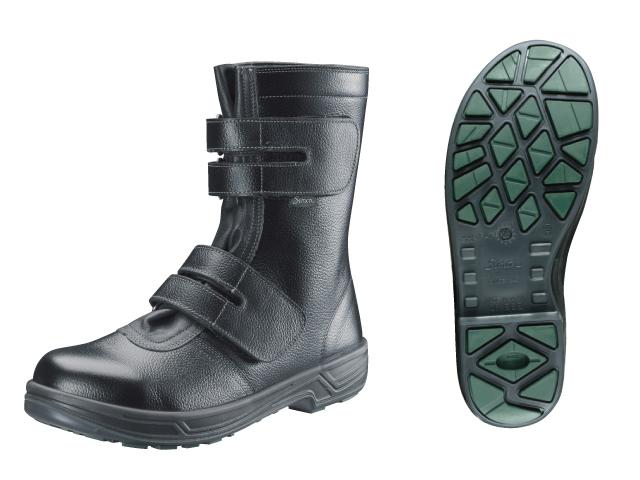 シモン(Simon) スターシリーズ 安全靴 長編上 マジック式 SS38 黒 29.0cm <SS38-29.0> 【安全靴 蒸れない レディース 安い靴 寅壱 セーフティースニーカー安全靴 25.5 滑らない おしゃれ ランキング】