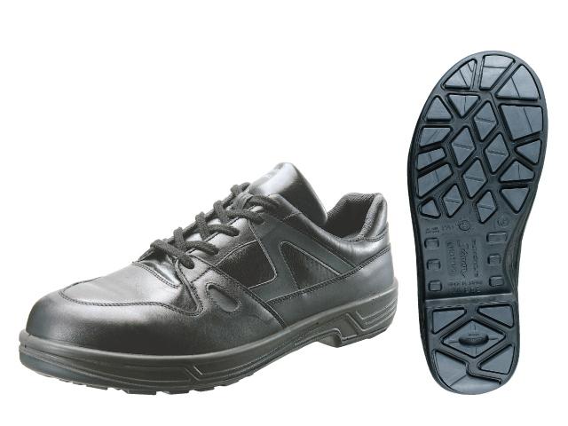 シモン(Simon) スニーカータイプ 安全靴 短靴 8611 黒 <23.5cm~28.0cm> 【安全靴 蒸れない レディース 16200円以上は 送料無料 安い靴 寅壱 セーフティースニーカー安全靴 おすすめ 通販 25.5 滑らない おしゃれ ランキング】