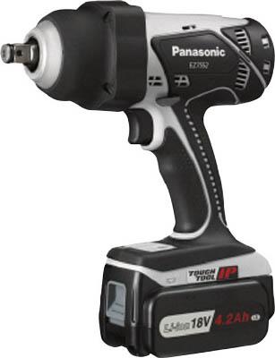 【送料無料】パナソニック(Panasonic) 充電式インパクトレンチ 18V <EZ7552LS2S-H> 【価格 違い セット品 コードレス 使い方 比較 インパクトドライバ 3 アンペア ビット ソケット 新商品 おすすめ 電動工具 セール 人気】