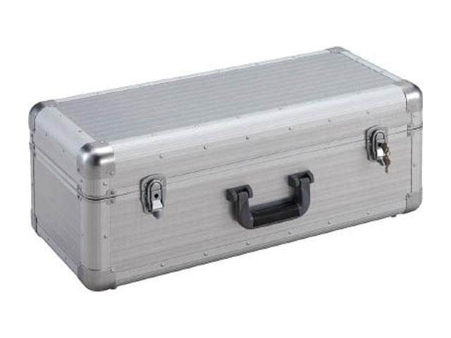 TRUSCO(トラスコ) 大型アルミ工具箱 シルバー 660×280×250 <TAC-66H> 【キャスター付 アルミ プラスチック ktc スナップオン チェスト ボックス キャビネット エルメス 工具セット ドカット スチール beta アメリカン 】