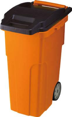 トラスコ TRUSCO <TCP90C4> キャスターペール 90L 4輪 オレンジ色【16200円以上送料無料 激安 通販 おすすめ 人気 価格 安い】