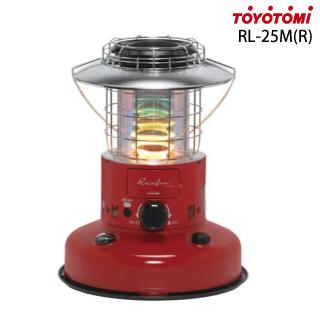 トヨトミ <RL-250(R)> レインボーストーブ 対流型石油ストーブ ファンなし レッド 赤色 限定品 toyotomiRL-250R