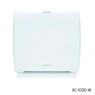 トヨトミ 空気清浄機 エアクリーナー ホワイト <AC-V20D-W> 【アロマ 空気清浄器 オシャレ 10年フィルター交換不要 小型 おしゃれ 子供部屋 激安 通販 セール おすすめ 人気 比較 ほこり】