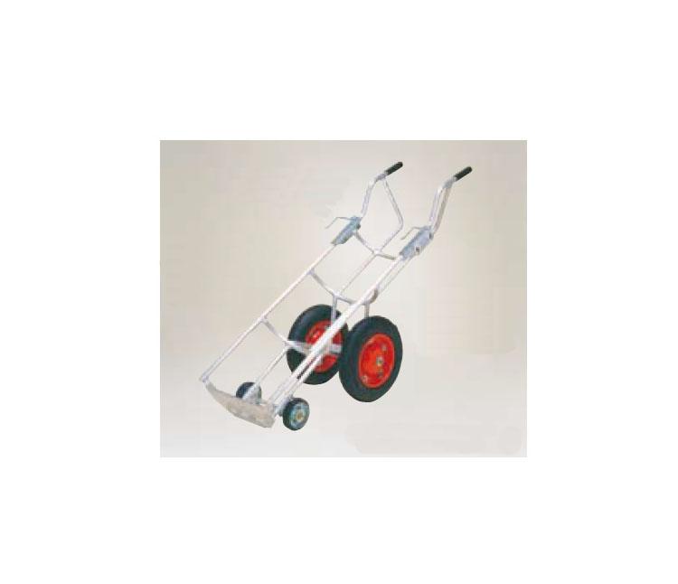 ハラックス タフボーイ アルミ製 LPガスボンベ運搬台車LPG-504LPG504【HARAX ガスボンベ 運搬 タイヤ 交換 ボス幅 リヤカー 台車 激安 通販 リヤカー 一輪車 最安値挑戦 価格 安い】