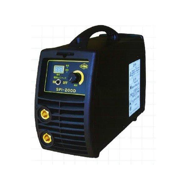 サンピース インバーター溶接機<SPI-200D>マイト工業 200V 直流